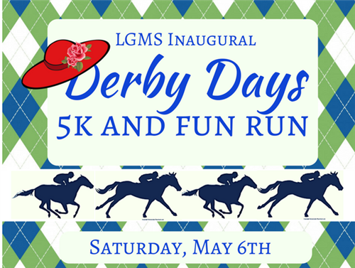 Derby days 5k Saturday, May 6th