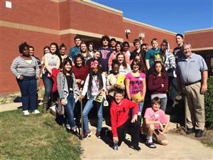 8th grade visit to the Academy for Advanced Studies