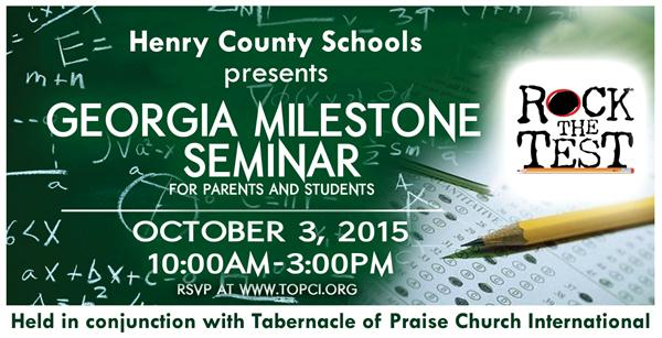 GA Milestone Seminar