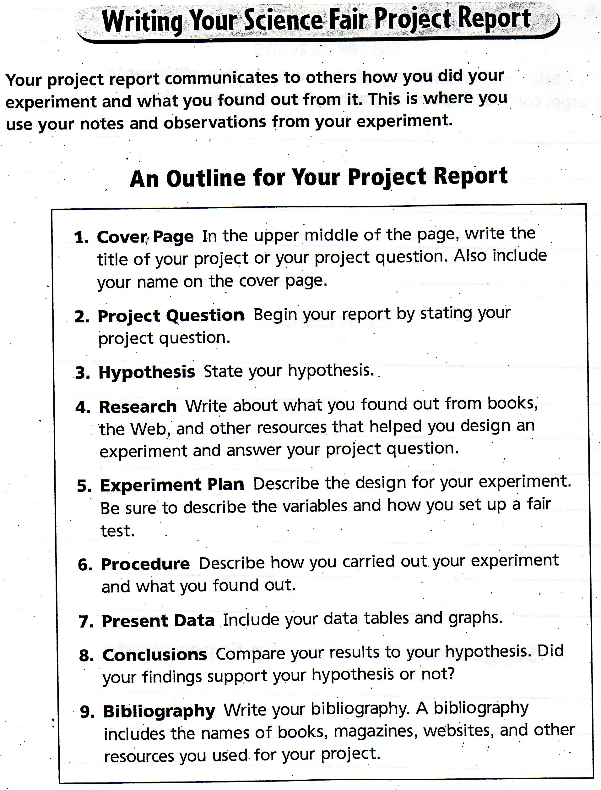 Grade 8 Social Studies Exit Project furthermore puter Integrated Manufacturing additionally Personal moreover Nhd Exhibits Cd likewise project Plan Templates. on science fair project layout